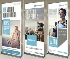 trade show banner design inspiration - Google Search                                                                                                                                                                                 More