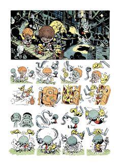 VCU 2013 Reboot: Round 4 - Wordless Comics