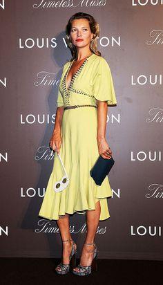 Las mejor vestidas de la semana - Kate Moss - Louis Vuitton