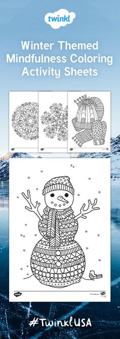 This lovely set of coloring sheets feature a selection of different images all related to the topic of winter. Great for a variety of activities, you can use them to reinforce fine motor skills, as inspiration for independent writing, or just for fun!