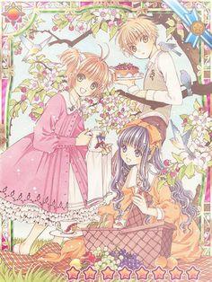 Resultado de imagen para sakura card captor y shaoran wallpaper