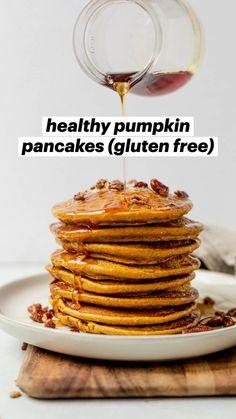 Breakfast Bread Recipes, Brunch Recipes, Pumpkin Breakfast, Free Breakfast, Paleo Breakfast, Breakfast Ideas, Pumpkin Recipes, Fall Recipes, Clean Eating Recipes