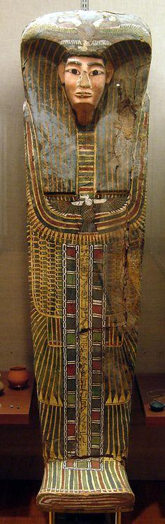 Rishi coffin of Puhorsenbu. 17th dyn. Asasif tomb, east of Pabasa, radim B44. MMA 30.3.7a, b.