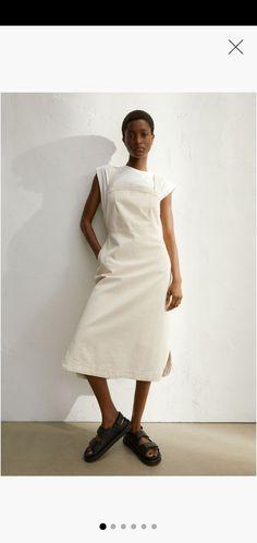 Womens Denim Dress, Denim Shirt Dress, Denim H&m, Zara Outfit, Paisley, Calf Length Dress, Square Necklines, Affordable Clothes, Fashion Company
