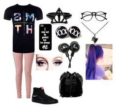"""""""BMTH"""" by jadamounger ❤ liked on Polyvore featuring Best Mountain, Vans, ZeroUV and Steve Madden"""