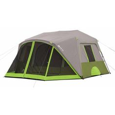 Ozark Trail 9 Person 2 Room Instant Cabin Tent with Screen Room - Walmart.com