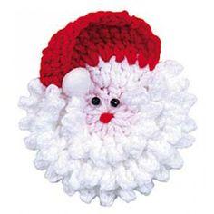 Santa Faces Crochet Kit