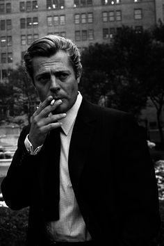 the60sbazaar: Marcello Mastroianni in New York (1962)