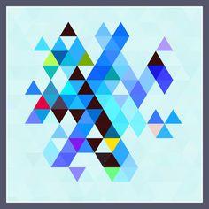 'Trinagle+II'+von+Viktor+Peschel+bei+artflakes.com+als+Poster+oder+Kunstdruck+$30.49