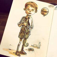 My 2015 #sketchbooks