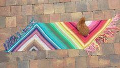 RainBOOM Wrap - free crochet pattern by MissNeriss