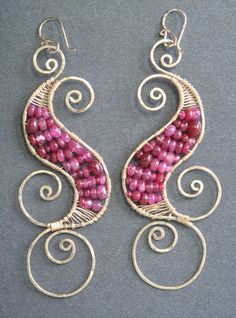 Pretty wire wrapping