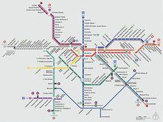 Mapa Metro Sao Paulo