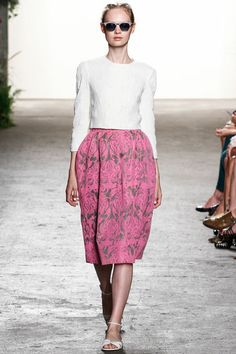 Something about the je ne se quois in this outfit speaks to me.  Honor, Spring 2013.