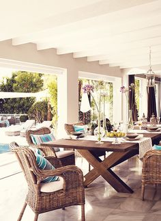 Interior design  Una splendida villa a Marbella