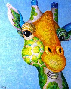 "Saatchi Art Artist Lisa Benoudiz; Painting, ""What's for supper ?"" #art"