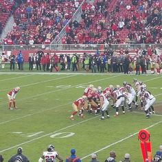 Victory formation. Been a long time since we've seen that. #49ers