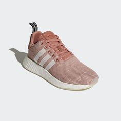 b2443f5f7 Adidas Originals Nmd R2 W Women Boost Ash Pink Clear Running Shoes new  CQ2007