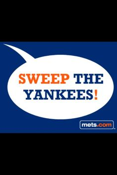 #LetsGoMets #YankeesSuck