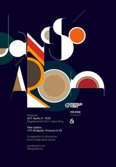 Typographic Poster 03 By Aron Jansco