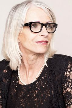 Eyeglass Frames For Gray Hair : 1000+ images about EYEGLASSES on Pinterest Eyeglass ...