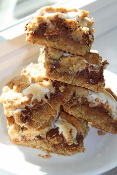 S'more Bars Dessert Recipe - The Recipe Nut