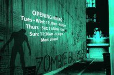 zombie burger st kilda