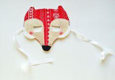 Lis maska (proj. Lady Stump), do kupienia w DecoBazaar.com