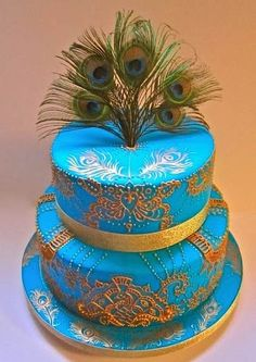 Cake Wrecks - Home - Sunday Sweets: Pretty as aPeacock