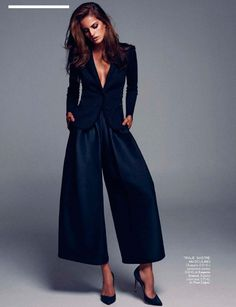Elle Spain Editorial September 2014 - Izabel Goulart by Xavi Gordo