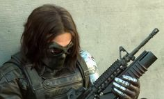 Bucky Barnes, a.k.a. the Winter Soldier, from the movie B-Clips.