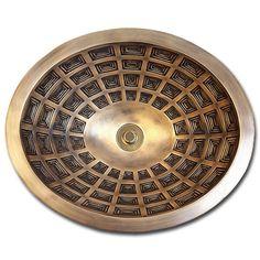 Linkasink Bathroom Sinks - Bronze - B036 Pantheon Bowl Oval - 4 Finishes