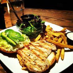 Photo by: tcaskenette - #ojsmenu grilled chicken burger=yummy!