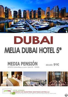 ¡¡Disfruta de DUBAI desde el lujoso Melia Dubai Hotel 5* por 90€ pax/día!! - http://zocotours.com/disfruta-de-dubai-desde-el-lujoso-melia-dubai-hotel-5-por-90e-paxdia/
