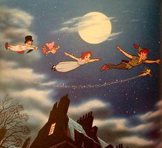 Disney's Peter Pan: illusion of life Disney Parks, Walt Disney, Peter Pan Neverland, Disney Pixar Movies, Peter Pan Disney, Over The Moon, Vintage Disney, Disney Magic, Illusions