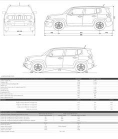 Jeep Renegade Dimensions