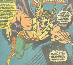 Awesome Golden Age Hawkman by Ordway from All-Star Squadron.