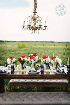 Southern Wedding | Texas Wedding | Central Texas| Guest Table | Glass Bottle Dr. Pepper  www.facebook.com/thesouthernmagnolia