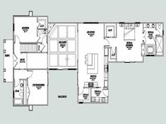 U Shaped House Plans with Courtyard Fresh House Pool Design Plans with Courtyard Luxury U Shaped Plan U Shaped House Plans, U Shaped Houses, Courtyard House Plans, House Floor Plans, Pool House Designs, Mediterranean House Plans, Good House, Amazing Architecture, New Homes