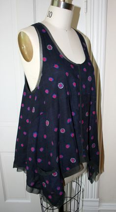 Custom/Made To Order lagenlook tunic vintage India by Breathe1960