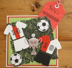 Soccer Cards, Football Cards, Marianne Design, Clever, Gallery, Boys, Projects, Crafts, Card Designs