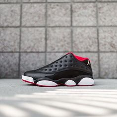 "BLACK FRIDAY SALE RETAIL PRICE: Nike Air Jordan 13 Retro ""Bred""  SHOP: kickbackzny.com  Click link in profile to shop."