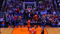 Jimmy Butler Receives the Half-Court Alley-Oop Off the Jumpball