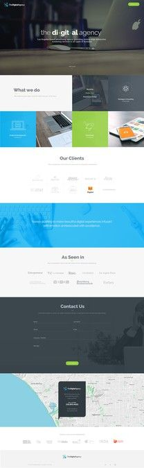 Create a Stunning Homepage for The Digital Agency by ogorinac