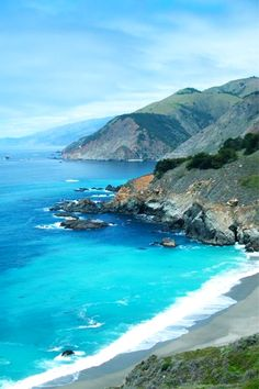 Big Sur -- one of my favorite places to visit in California Vacation Trips, Dream Vacations, Vacation Spots, Big Sur California, California Camping, Santa Lucia, Great Places, Places To See, Sports Nautiques