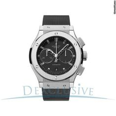 Hublot Classic Fusion Men's Titanium Watch - 521.NX.1170.RX