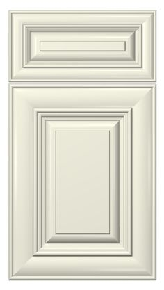 cambridge door style :: painted :: antique white #kitchen #cabinets #doors