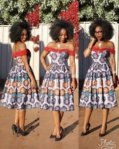 Creative Ankara Aso Ebi Gown Design - DeZango Fashion Zone