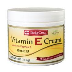 De La Cruz Moisturizer Vitamin E Cream - 4 oz