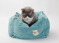 Pet Products Supplies Cat Cushion Bed House Bed For Cat Sleeping Bag Deep Bed Kennel Pens Sofa Warm Soft Cozy Free Shipping 1PC